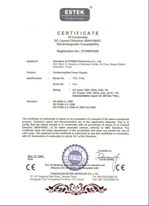 Online UPS 1KVA/700W CE