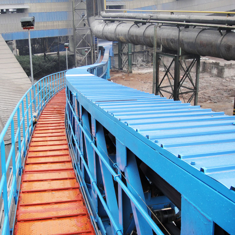 Pipe Conveyor of Max. tube dia.with 850mm