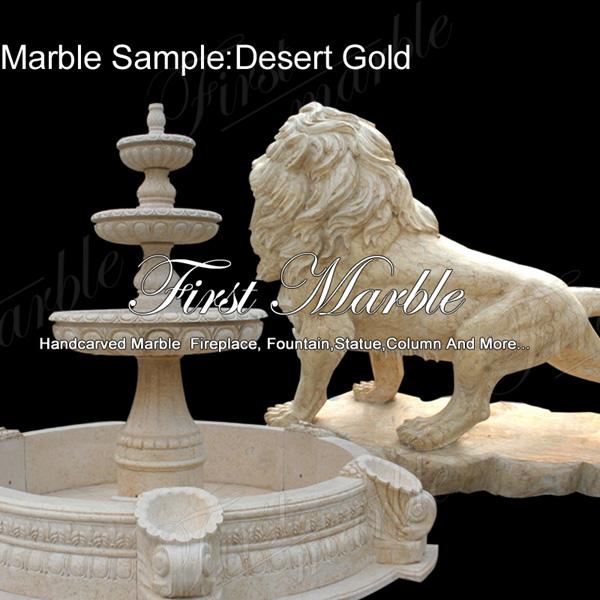 Marble Sample Desert Gold
