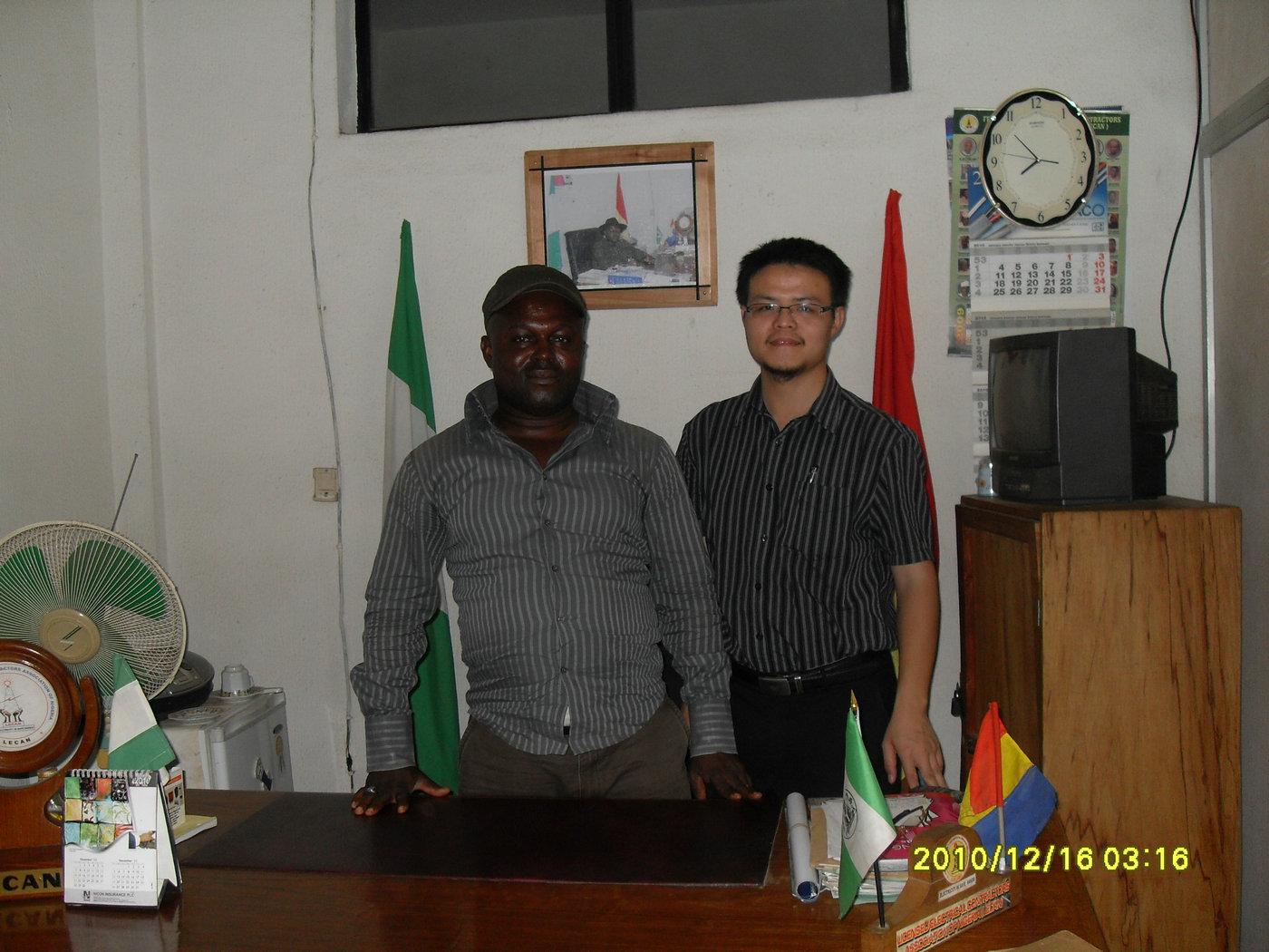 Visit Abuja Client in Nigeria, 2010