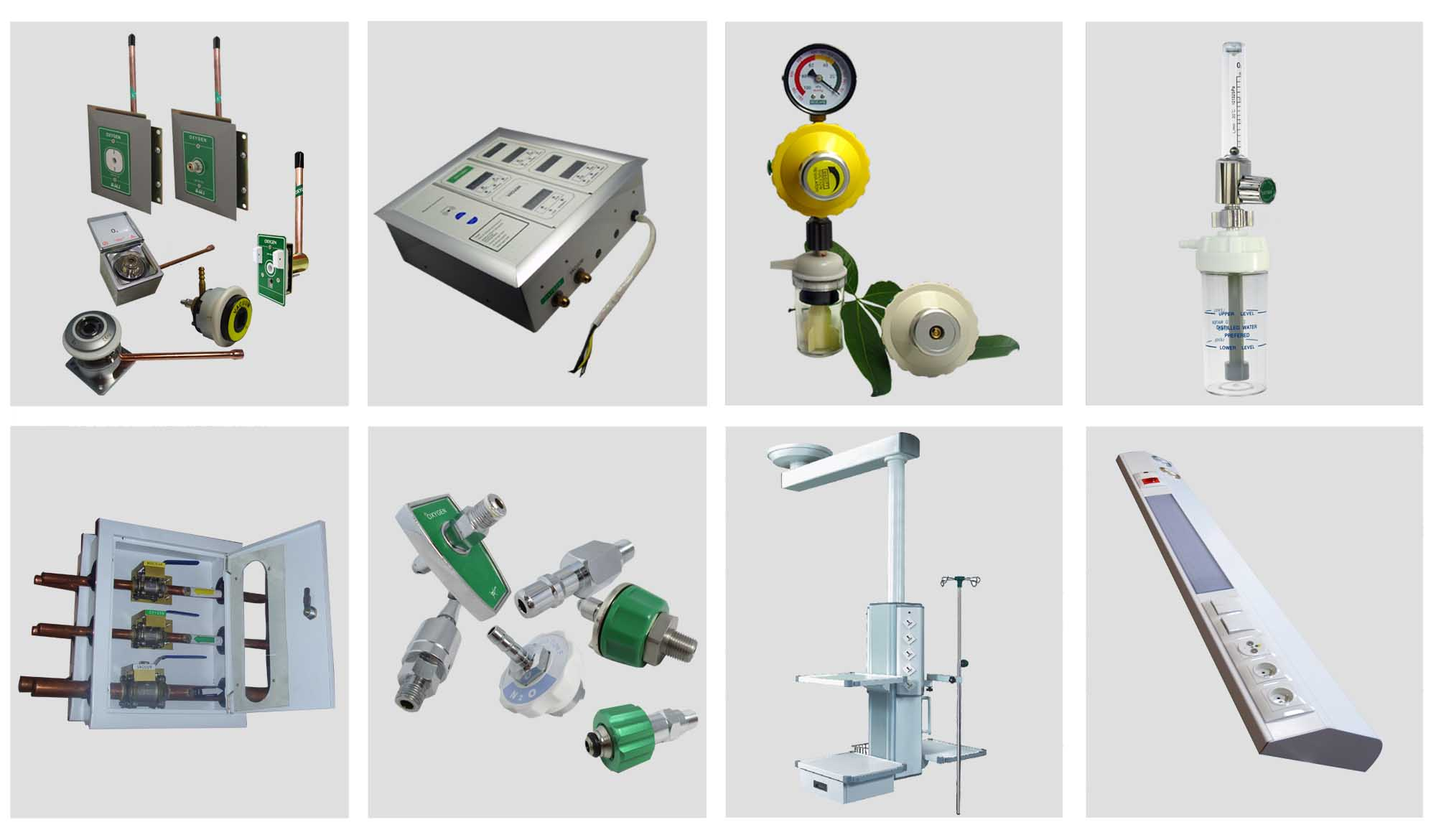 One-stop Sourcing for Medical Gas System Products