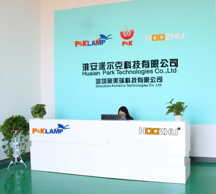 Company Reception Desk