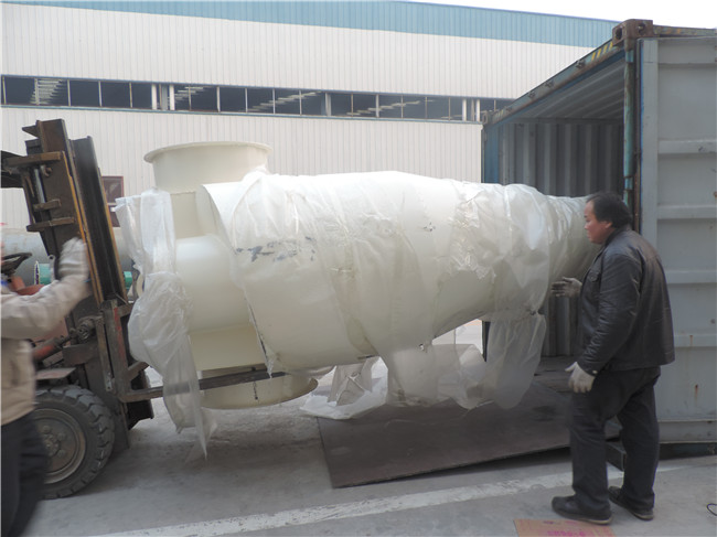 pack and delivery of pellet machine