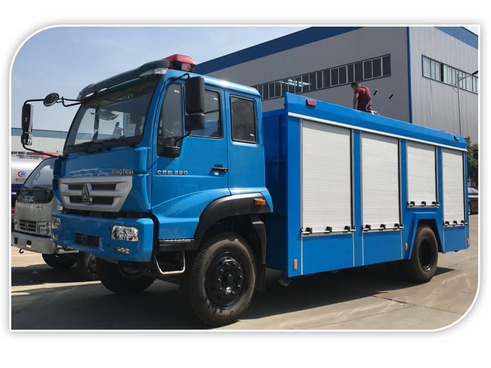 SINOTRUK fire fighting truck