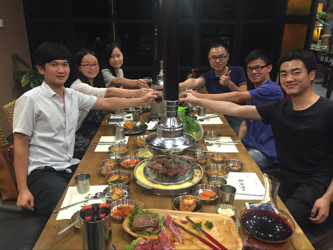 Invitation to Korean barbecue from Top sale