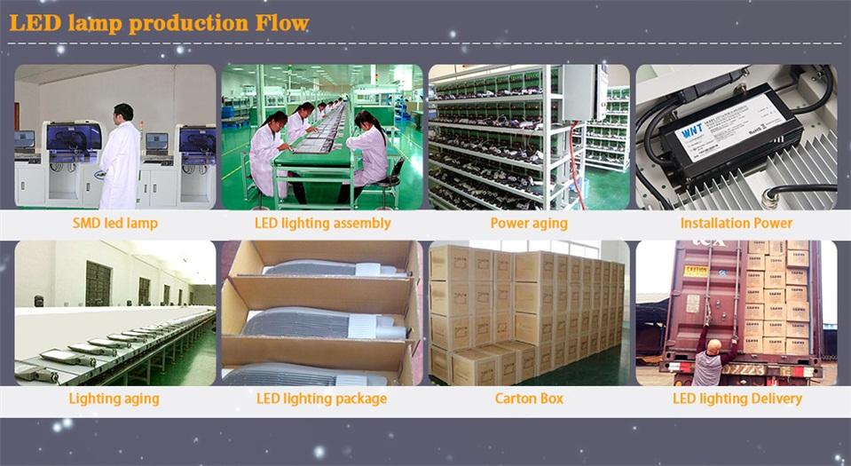 LED lamp production flow