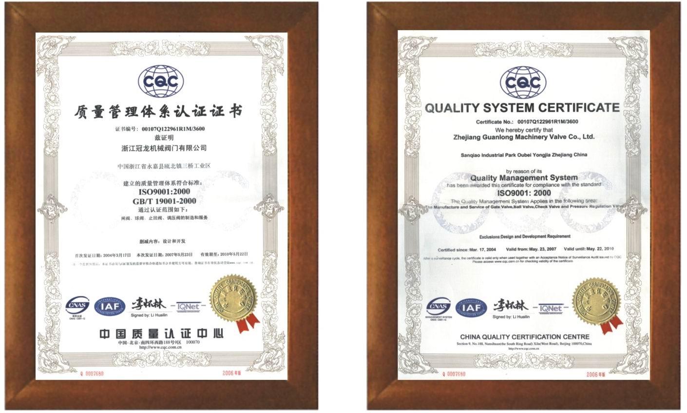 CQC License