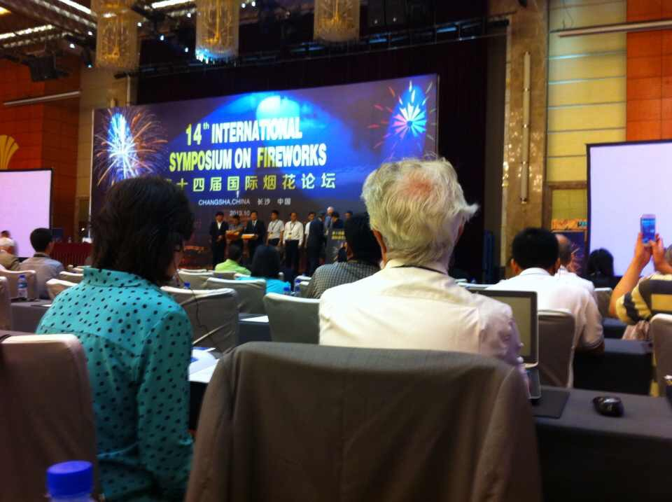 14th International Symposium on Fireworks