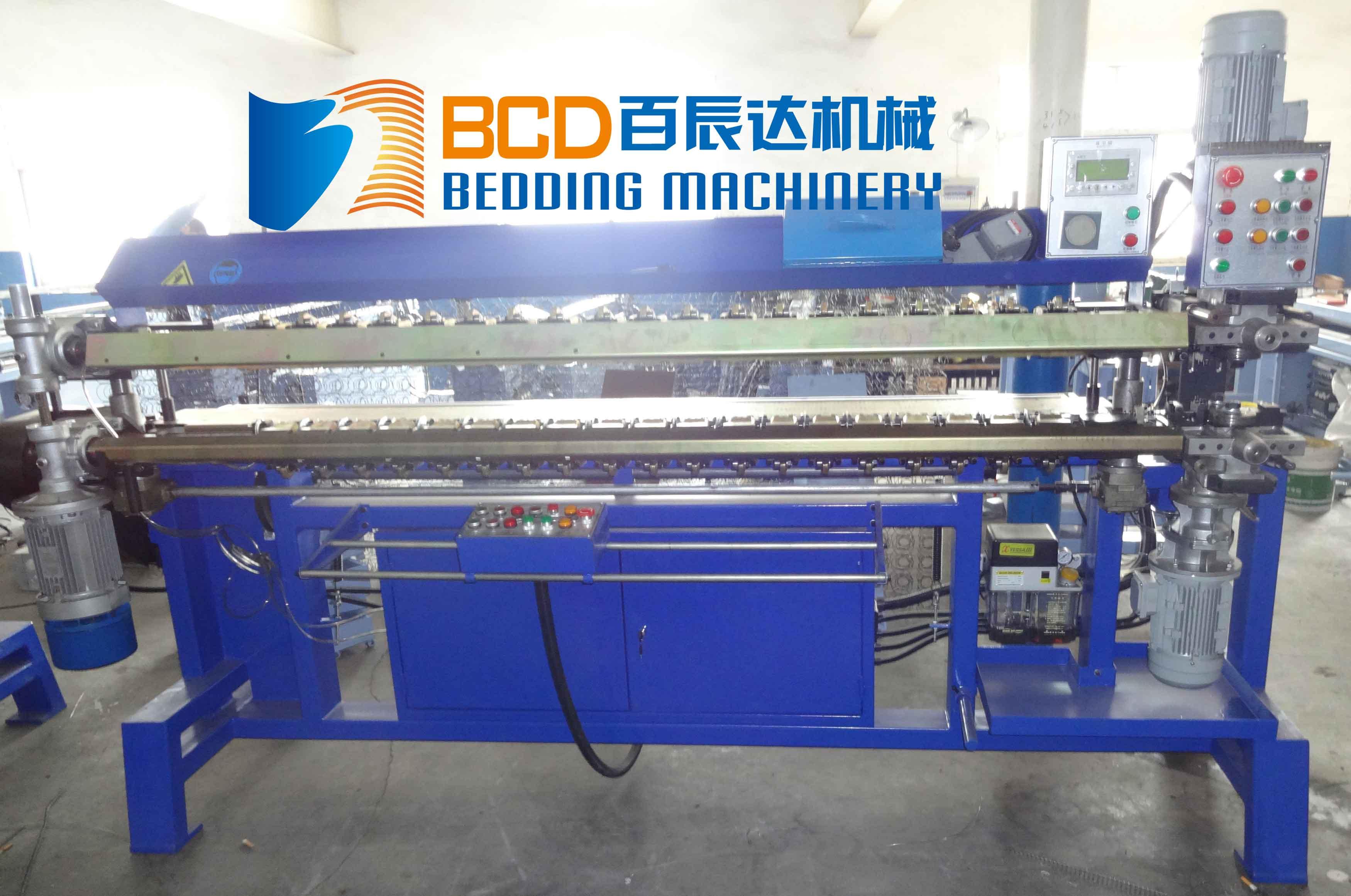 Mattress Spring Machine Ready