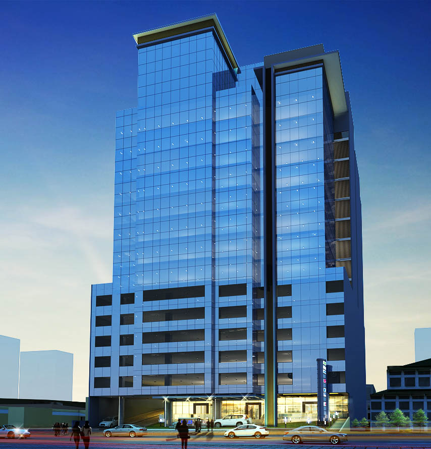 FLB curtain wall in Philippine