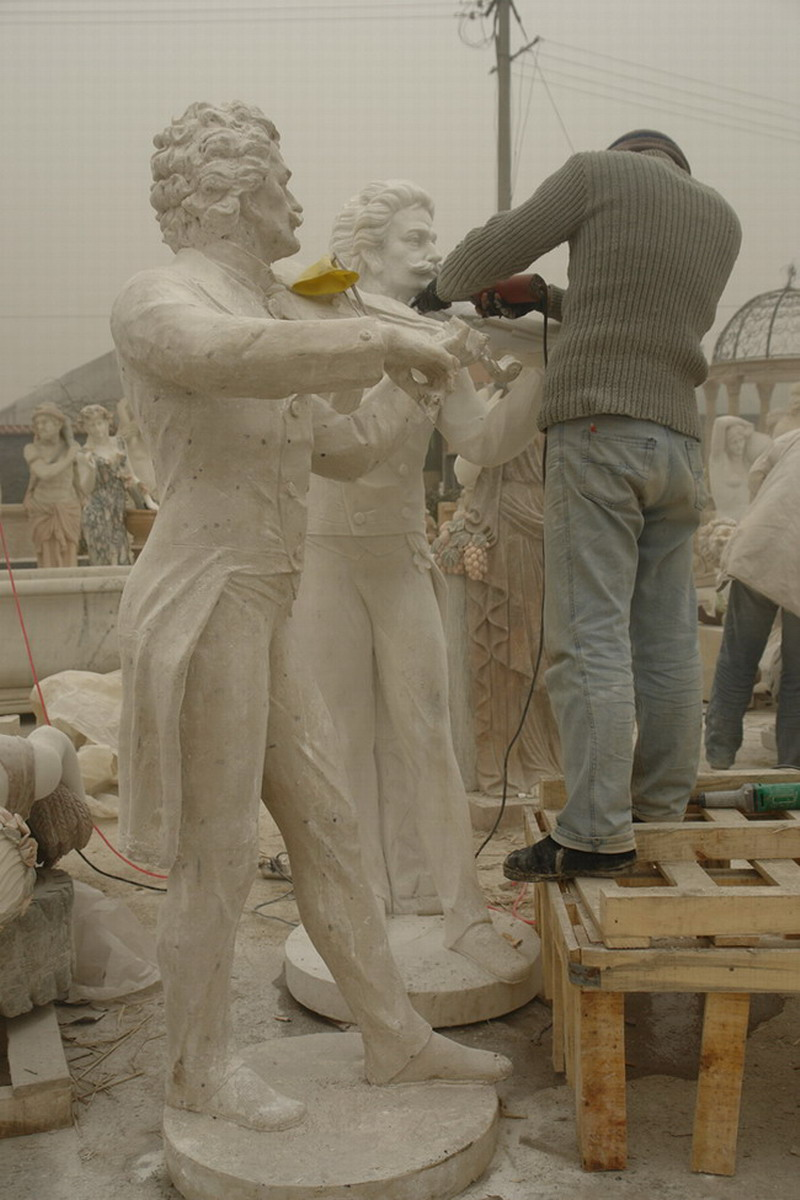 Carved From The Plaster Mould