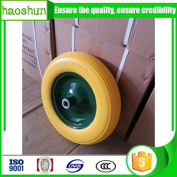wheelbarrow pu foam wheel