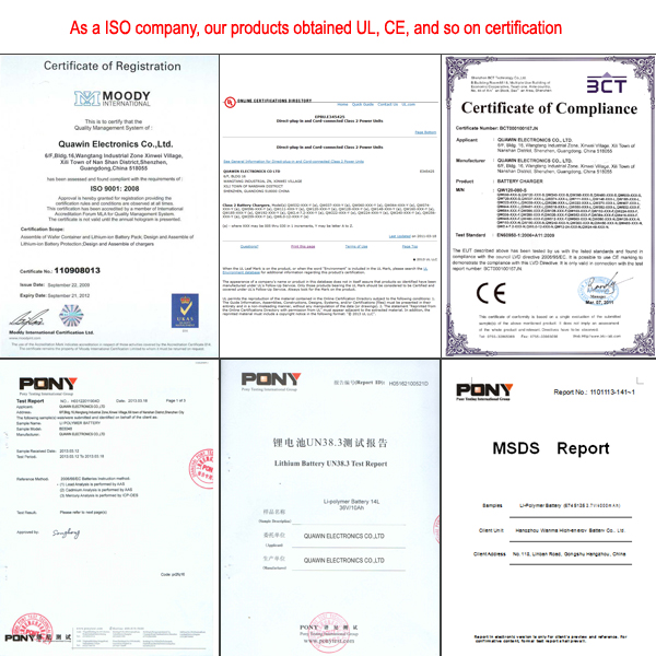 Charger Certification