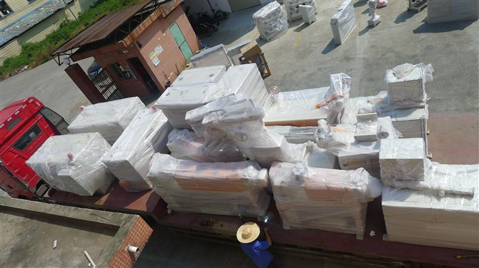 teflon cable extruder delivery Henan province(2 set)