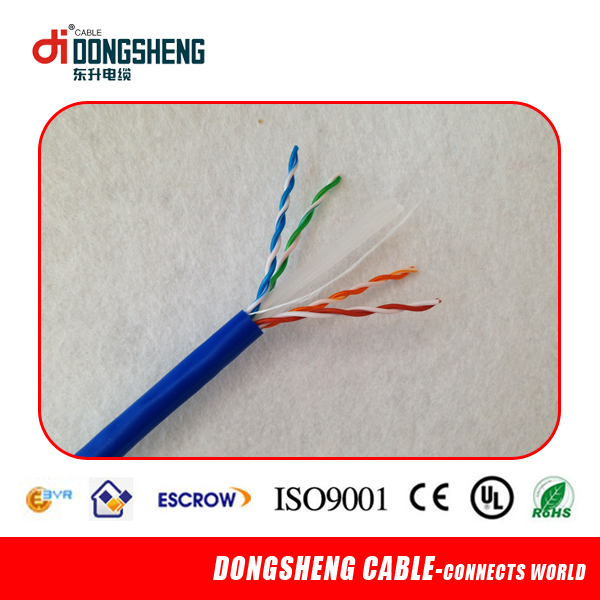 UTP CAT6 Network Cable with UL ROHS ISO