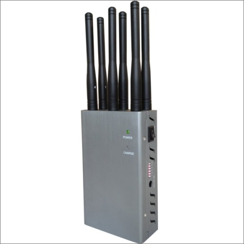 6 Bands Handheld Mobile Signal Jammer