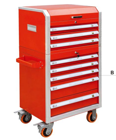 tool trolley cabinet combinations