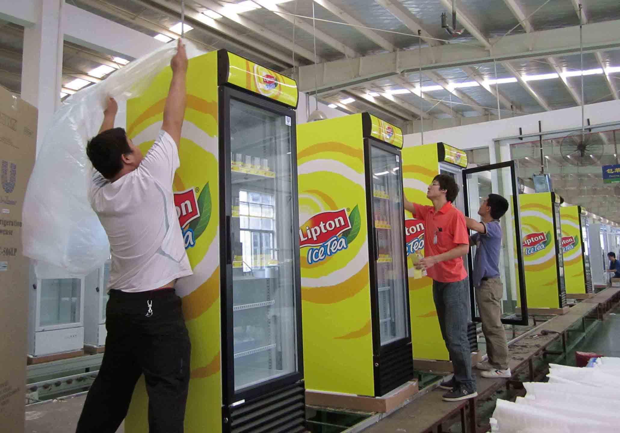 Vertical Cooler Production Line