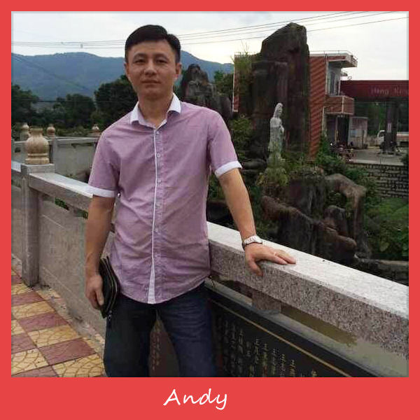 Our General Manager - Mr. Andy