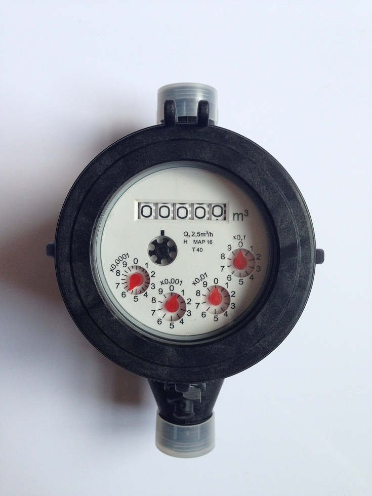 Multi Jet Dry Type ISO4064 Water Meter
