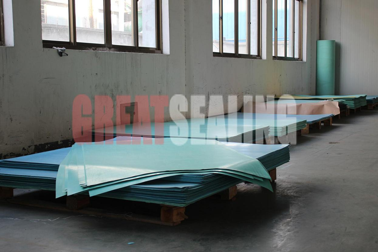 Non asbestos gasket sheet with high quality