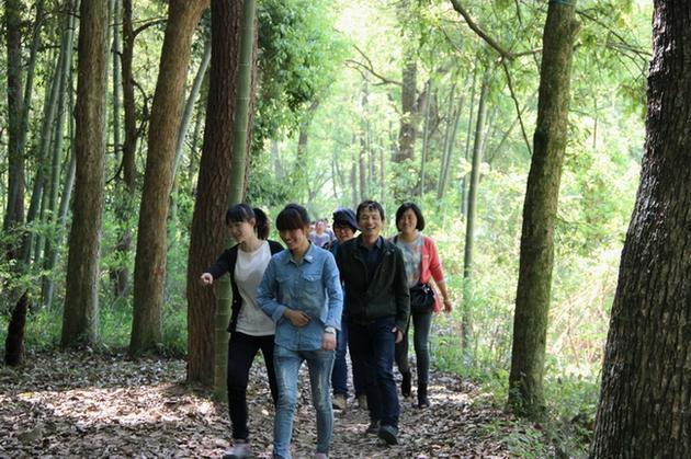 9-11 April,2014 Company Travel, Yandang Mountains