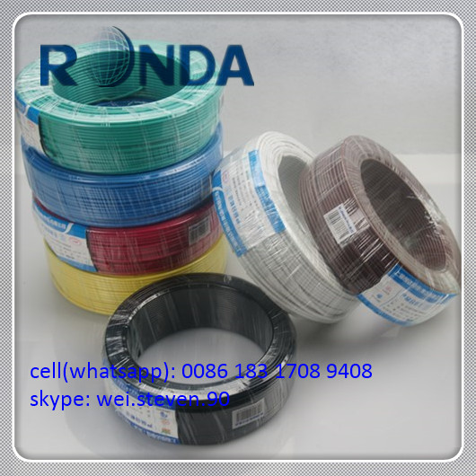 cheap electric wires with different color