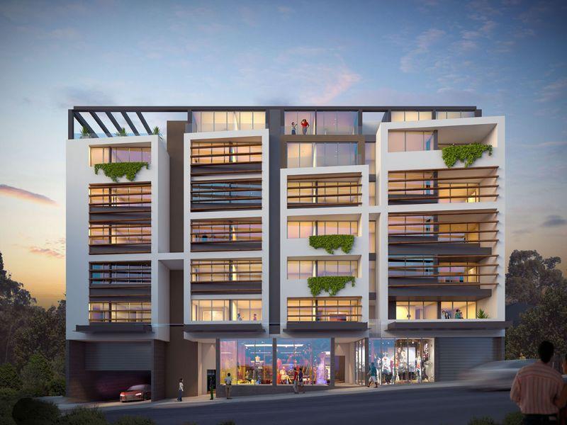 Commercial building in Mariton street,gladesville, Australia