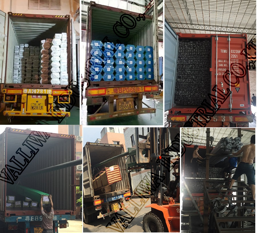 Container loading for stainless steel pipe