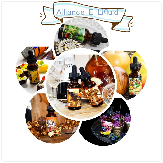 Alliance Brank imported ingredient 7 flavors E Liquid
