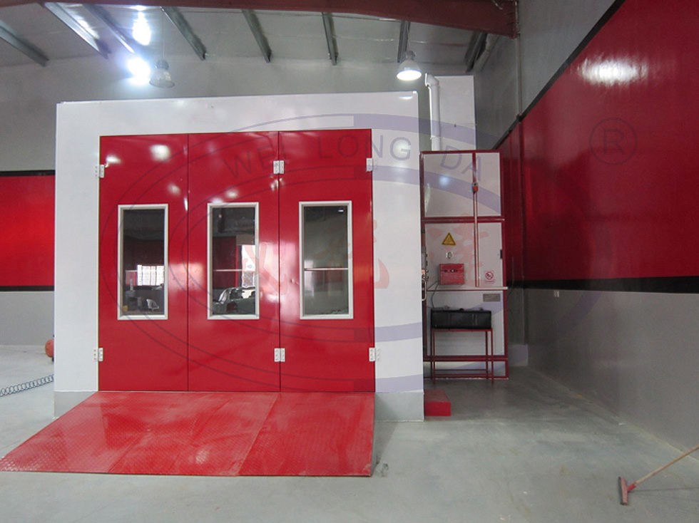 WLD8400 Spray Booth in Middle East