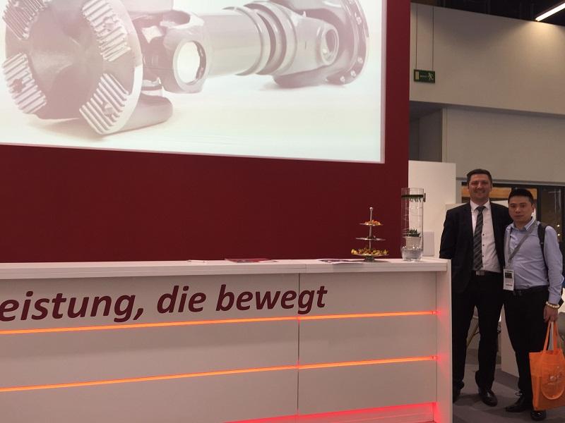 2016 Year Frankfurt (Germany)automotive fair.