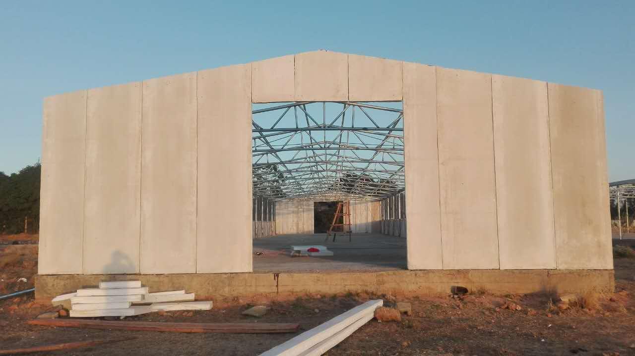 Steel Structure Chicken Farm Project In Ethiopia
