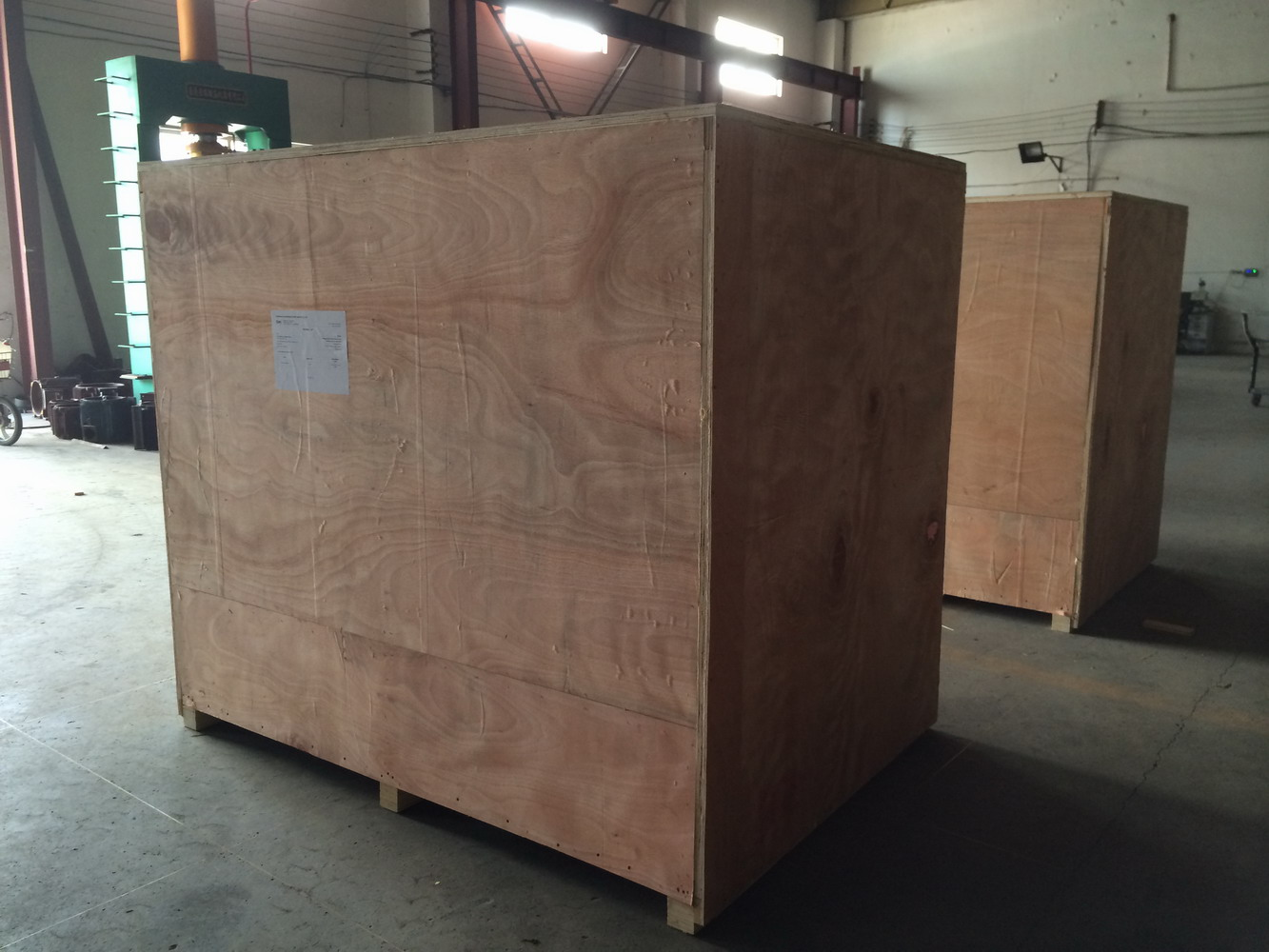 Plywood Packing Case for Exportation Stationary Screw Air Compressors