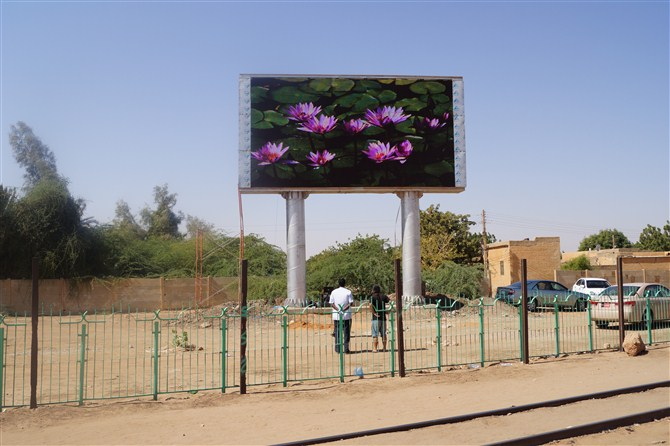 Led Screen Billboard in Africa