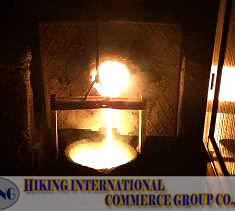 Induction Melting Furnace Working Photos