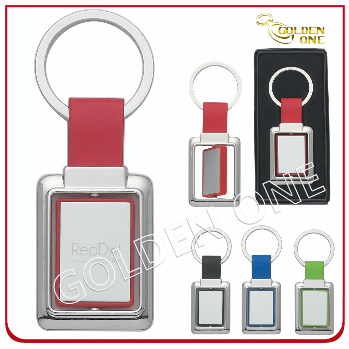 Promotion Gift Metal Spinning Keychain