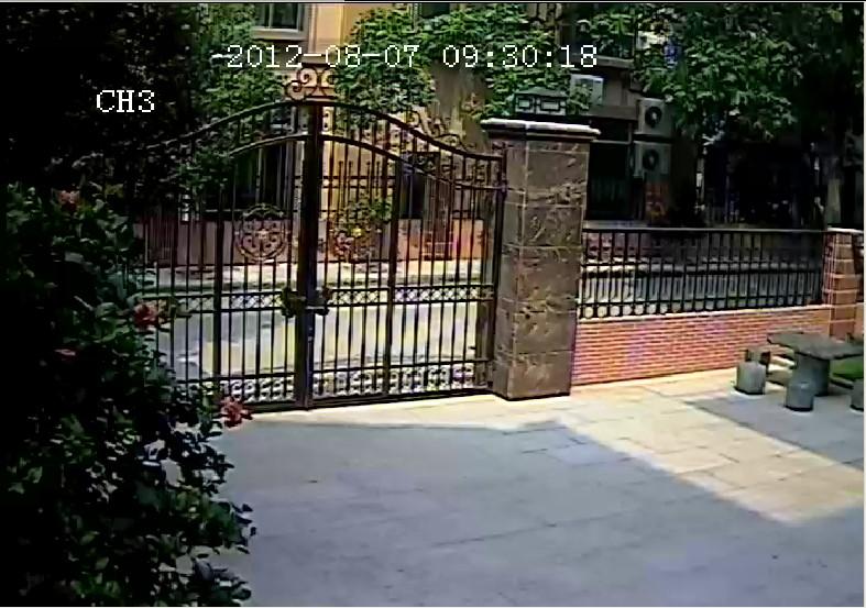 CCTV Camera Remote Effect