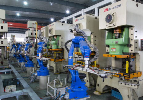 Automated Stamping Line