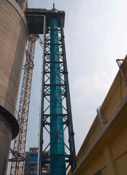 Big inclination belt conveyor -2