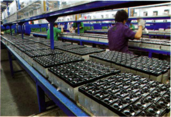 Battery Assembly production line