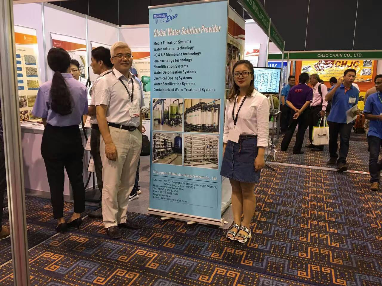 MolecuLar attend the exhition in Thailand