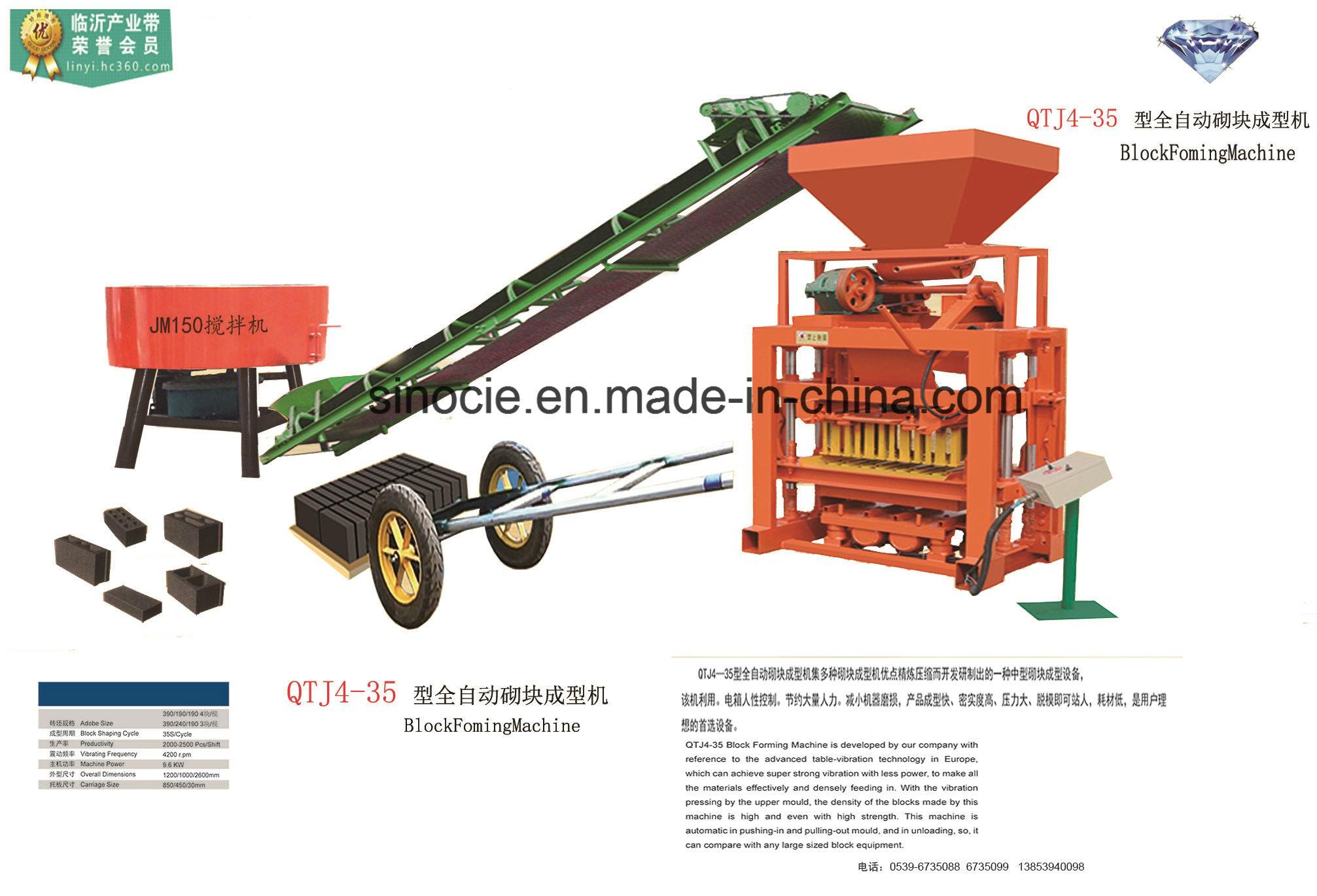QTL 4-25 Brick machine
