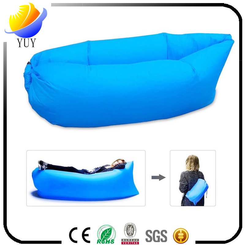 Outdoor multifunctional lazy inflatable sofa and beach air sofa bedand camping inflatable sleeping