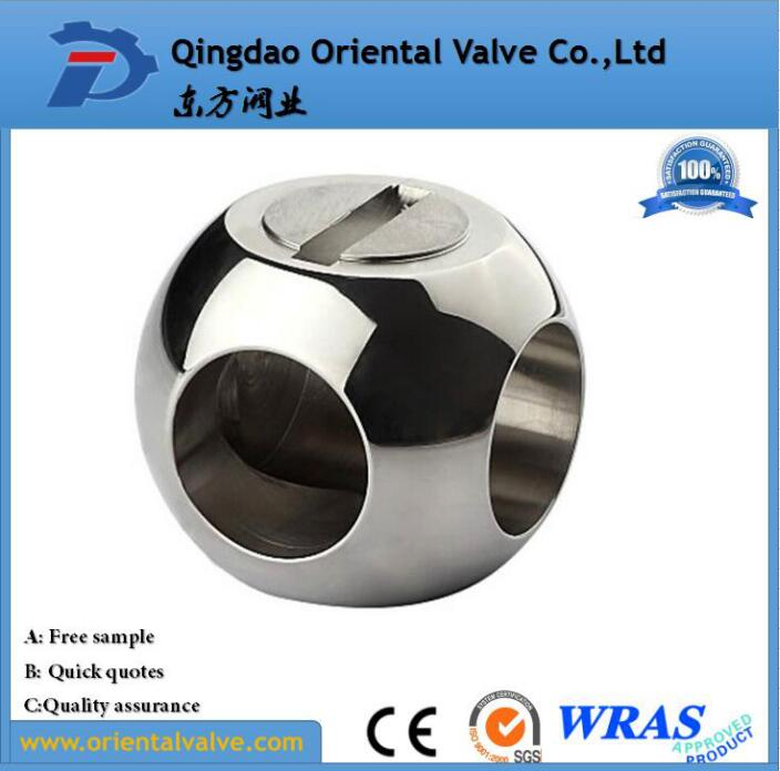 stainless steel ball valve ball