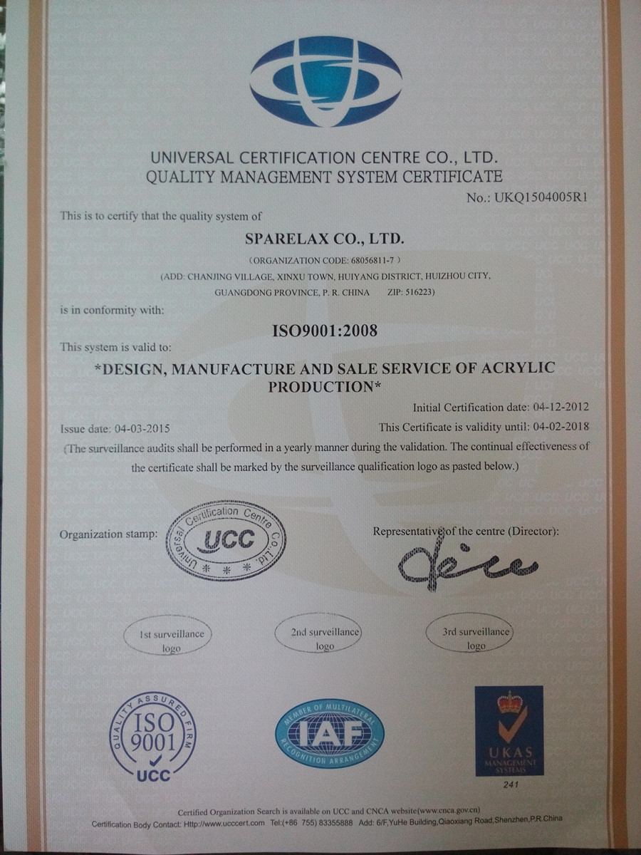 ISO9001:2008 (2015 update)