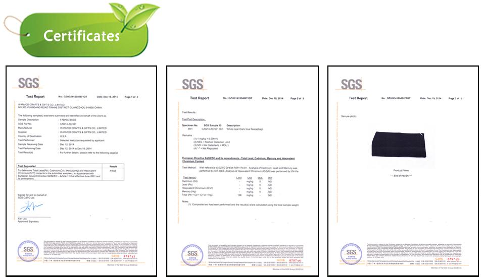 certificate bag