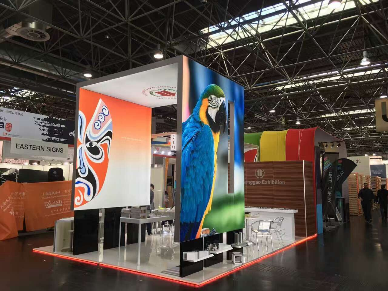 2017 ChuangGao Exhibition attend Germany Euroshop