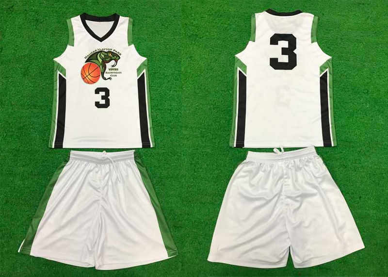 Feedback for basketball uniforms - Curtis