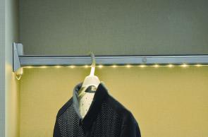Wardrobe sensor light